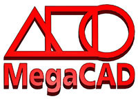 Logo programu MegaCAD