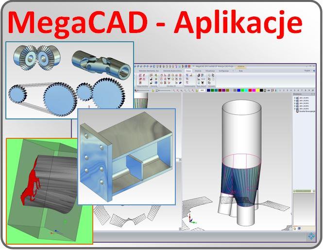 MegaCad - Aplikacje