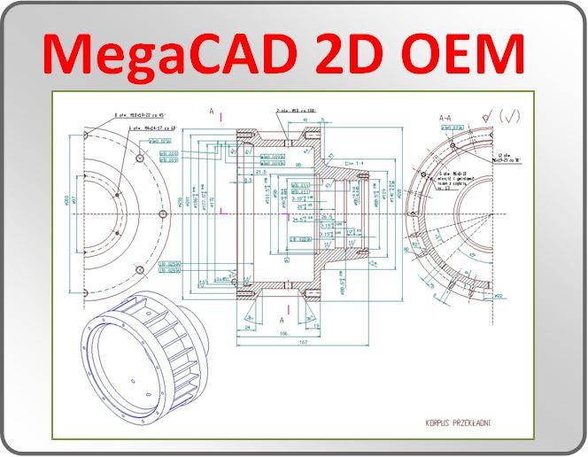 MegaCad 2d OEM