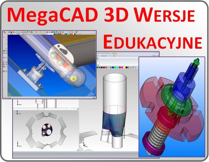 MegaCad 3d - wersje edukacyjne