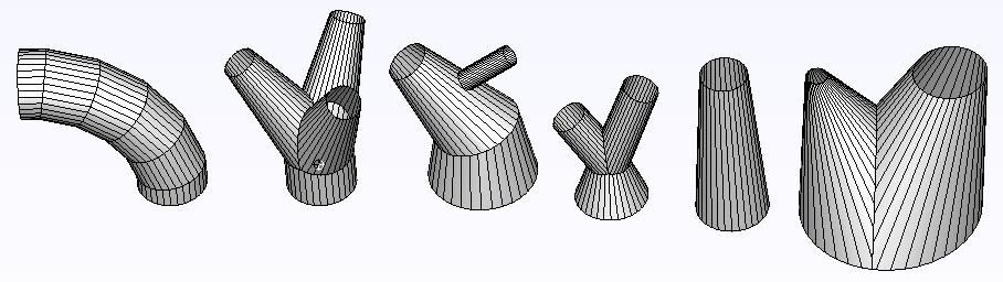 Typowe rozwijane elementy parametryzowane